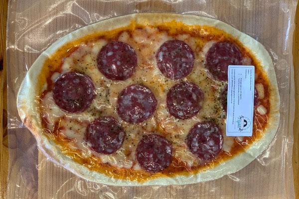 Salami Takeaway Pizza