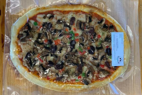 Vegetarian Takeaway Pizza